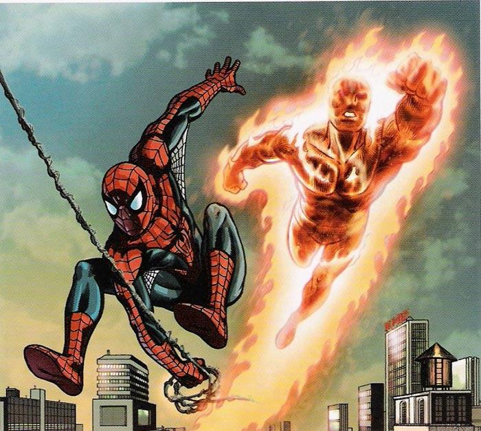 Tom Holland pide a Antorcha Humana para la segunda película de Spider-Man