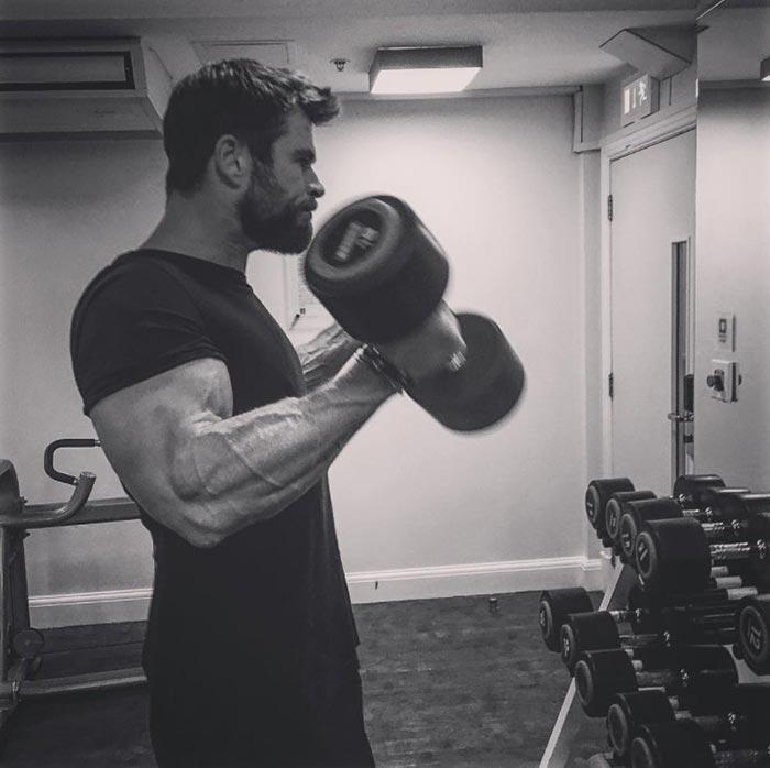 Thor demuestra que ya está preparado para 'Vengadores: Infinity War'Thor demuestra que ya está preparado para 'Vengadores: Infinity War'