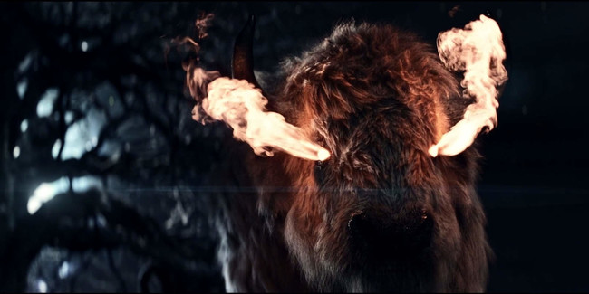 American Gods Flaming Buffalo 2