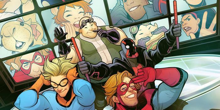 New Warriors en los cómics Marvel