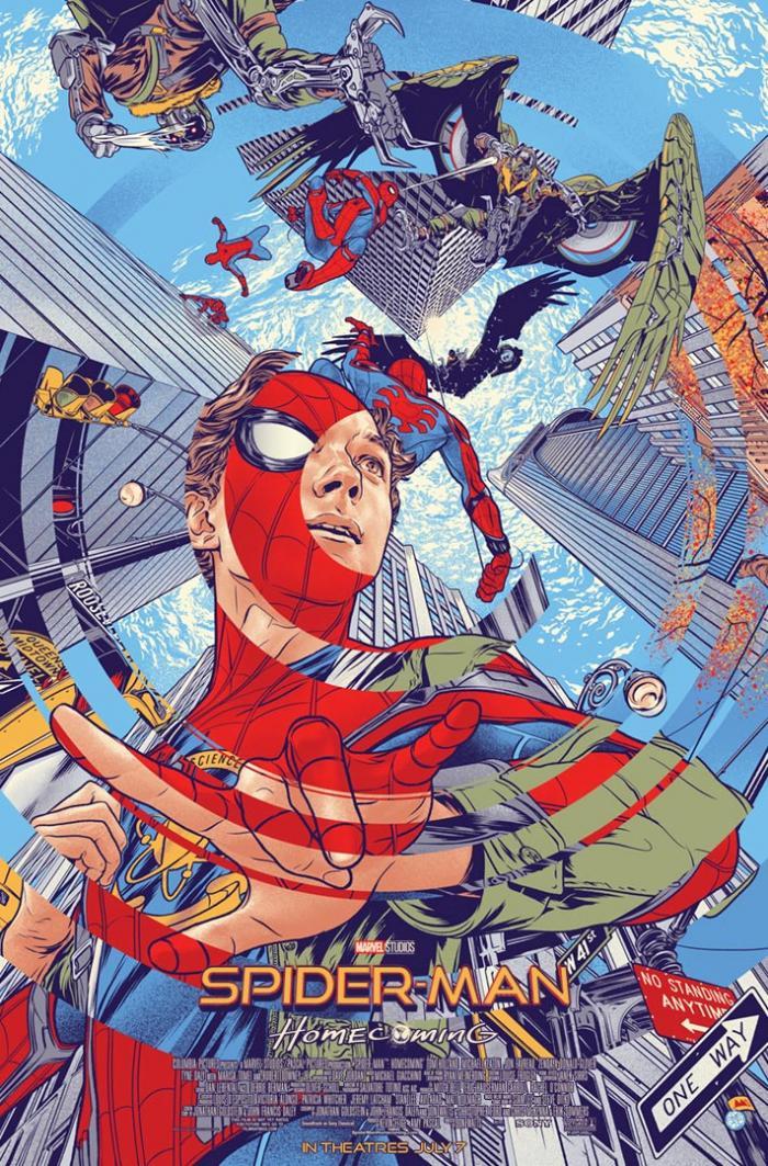 Poster mondo de Spider-Man: Homecoming (2017)