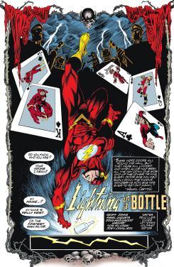 Imagen de The Flash #164, por Geoff Johns y Ángel Unzueta