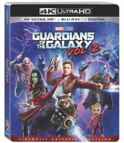Carátula del Blu-ray de Guardians of the Galaxy Vol. 2 (2017)