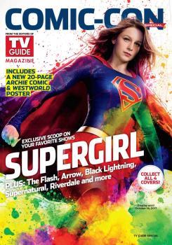 Portada de TV Guide para la SDCC dedicada a Supergirl