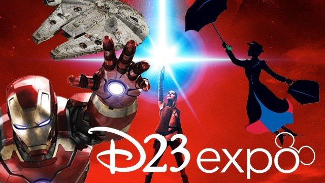 Montaje de la D23 Expo