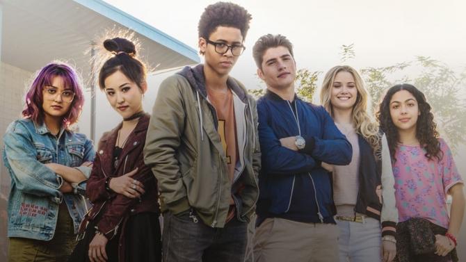 Imagen promocional de la serie Runaways (2017)