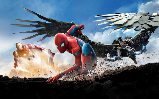 Cartel Homecoming Spiderman