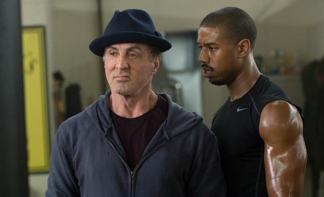 Stallone y Michael B. Jordan en Creed