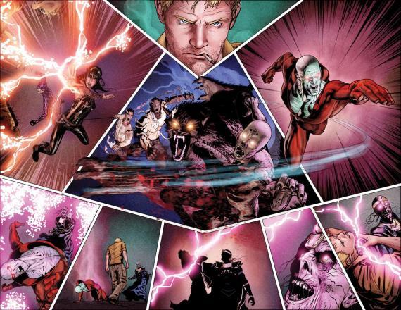 Imagen del cómics Justice League Dark