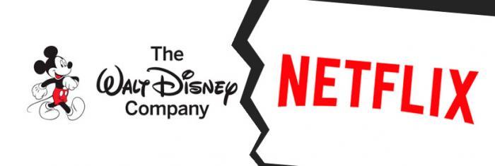 Walt Disney rompe su acuerdo con Netflix