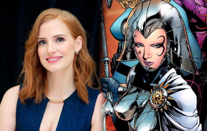 Jessica Chastain en negociaciones para ser la Princesa Lilandra en X-Men: Dark Phoenix (2018)