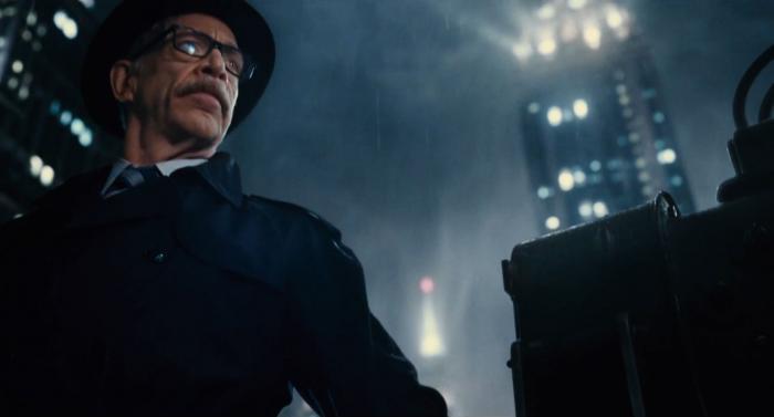 Captura del segundo trailer de Justice League (2017), Gordon