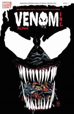 Imagen portada del cómic Venom Inc Alpha #1