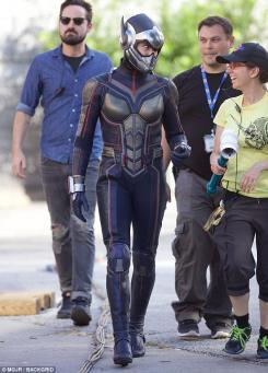 Imagen del set de Ant-Man and the Wasp (2018)