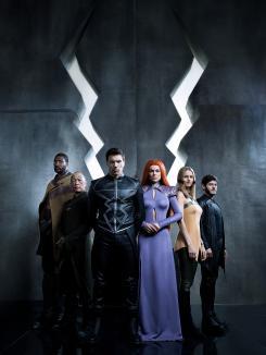 Imagen promocional de la primera temporada de Inhumans (2017)
