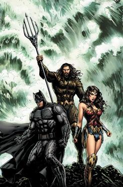 Portada alternativa de Aquaman #30, por Liam Sharp