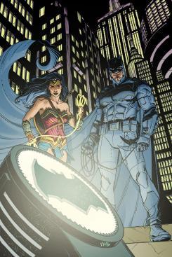 Portada alternativa de Detective Comics #968, por Cully Hamner