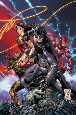 Portada alternativa de Batman #34 por Tony S. Daniel