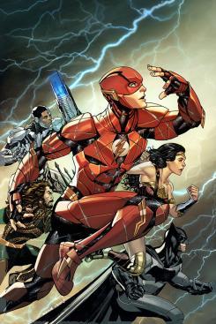 Portada alternativa de The Flash #34, Mike McKone