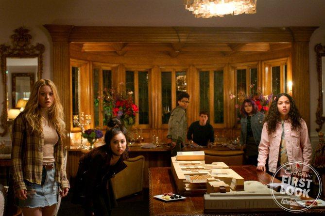 Imagen de la primera temporada de Runaways