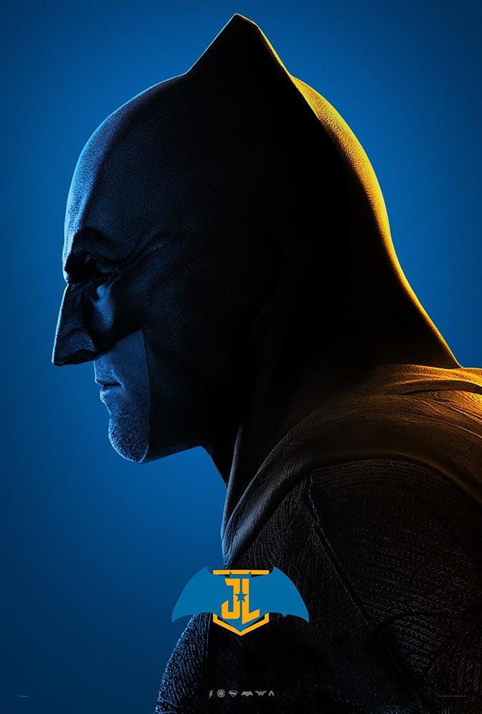 Póster de la Liga de la Justicia (2017): Batman