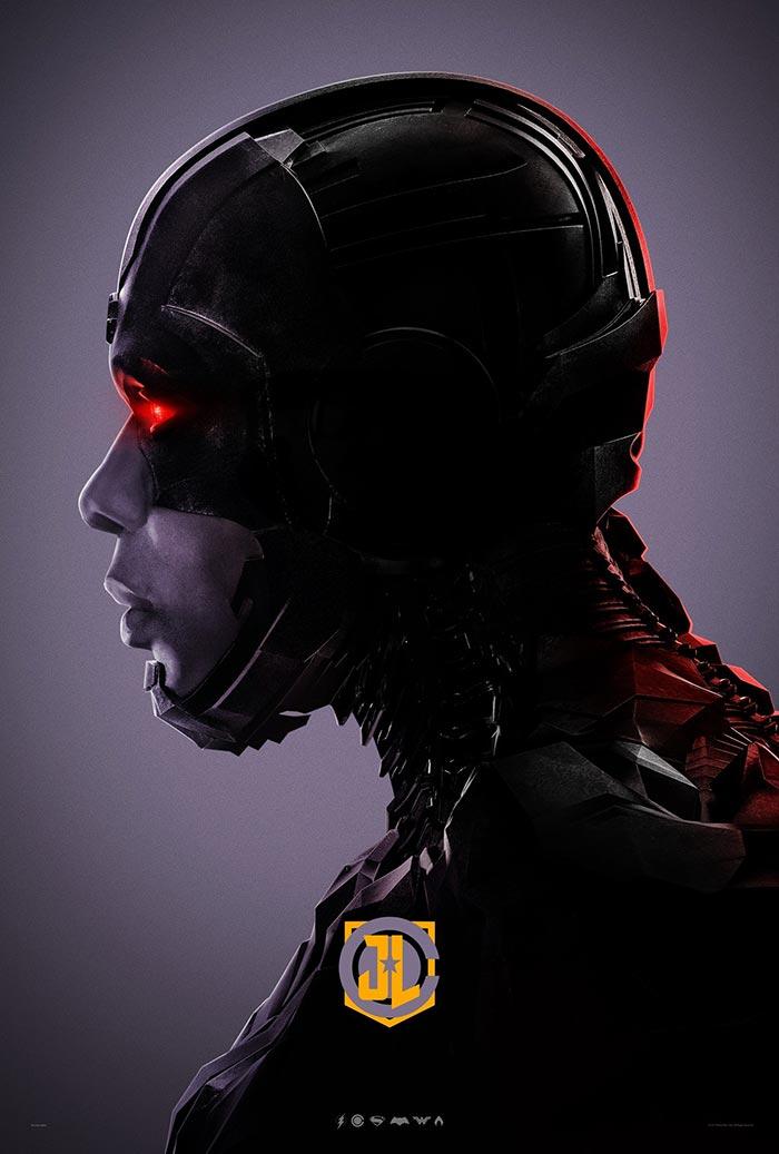 Póster de la Liga de la Justicia (2017): Cyborg