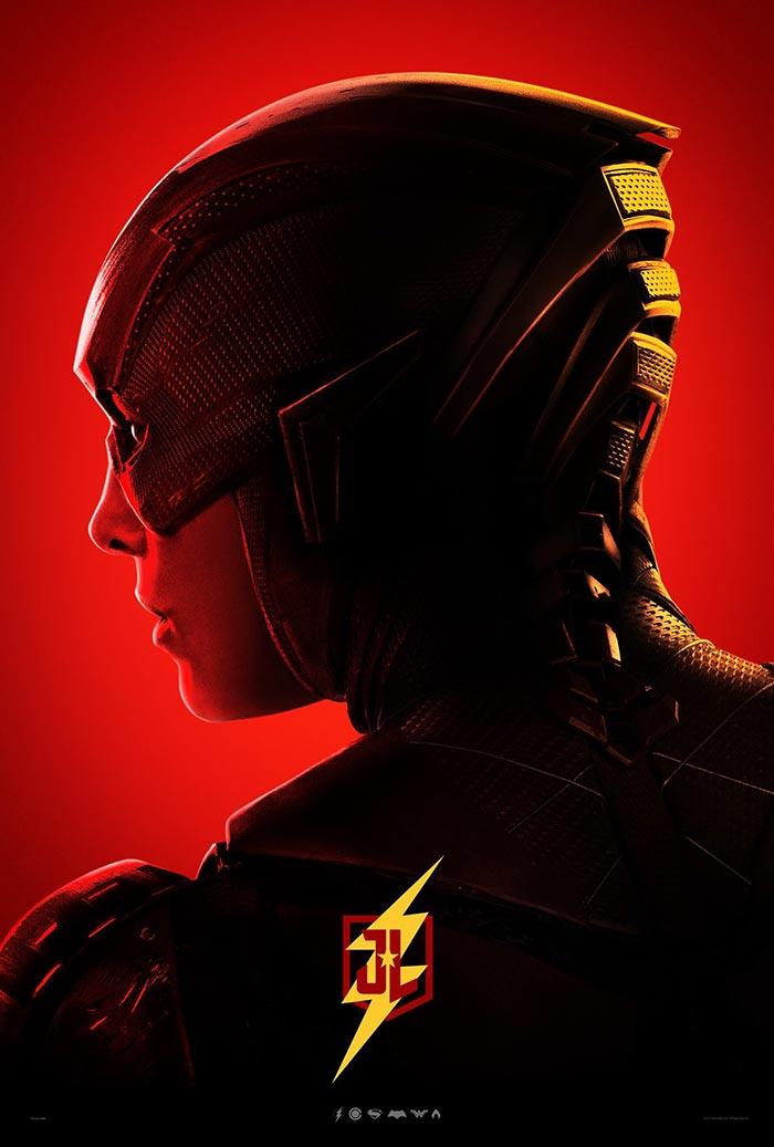 Póster de la Liga de la Justicia (2017): Flash