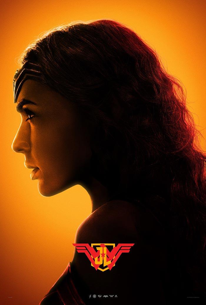 Póster de la Liga de la Justicia (2017): Wonder Woman