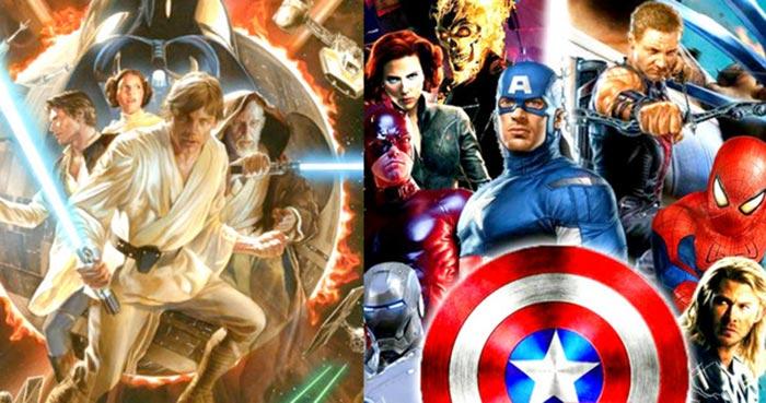 Star Wars y Marvel en Disney, no en Netflix
