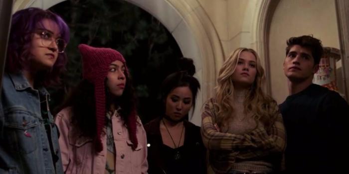 Captura del primer trailer de Runaways