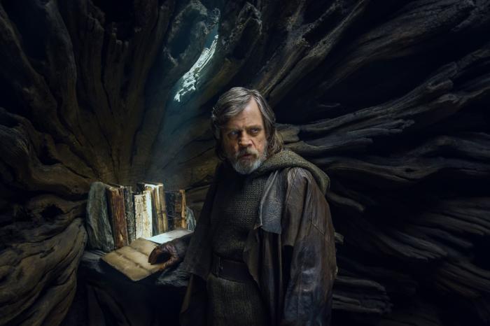 Imagen de Star Wars: Los Últimos Jedi (2017), Luke Skywalker