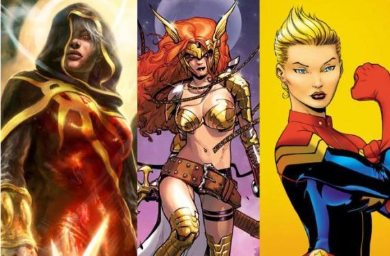 Personajes femeninos de Marvel relacionados con Guardianes de la Galaxia