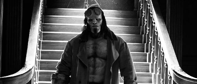 Imagen oficial del set del reinicio de Hellboy