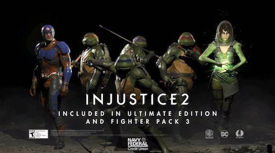 Imagen promocional del Pack de luchador 3 de Injustice 2