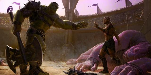 Concept art de Thor: Ragnarok (2017)