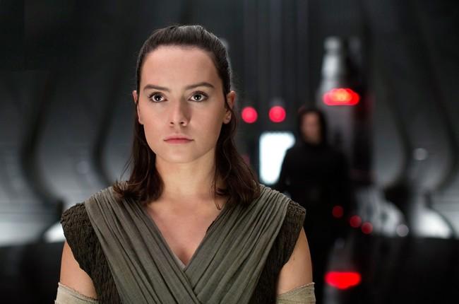 Daisy Ridley en Star Wars: Los últimos jedi