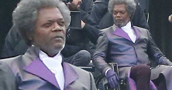 de38e073ea7 Primera imagen de Samuel L. Jackson en  Glass  la secuela de ...