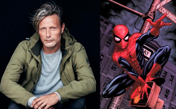 A Mads Mikkelsen le gustaría interpretar una versión adulta de Spider-Man