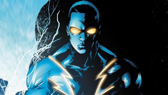 Imagen de Black Lightning en los cómics de DC