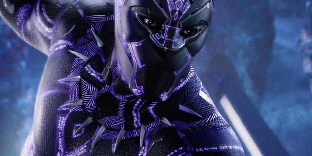 Imagen promocional de Black Panther (2018), recorte de la portada de Empire