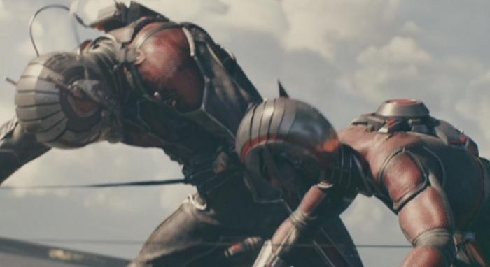 Ant-Man y la Avispa originales (Hank Pym y Janet Van Dyne) en Ant-Man (2015)