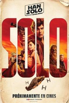 Póster para España de Han Solo: Una historia de Star Wars (2018)