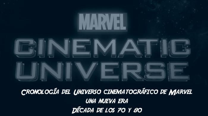 Cronología del Universo cinematográfico de Marvel: Una nueva era