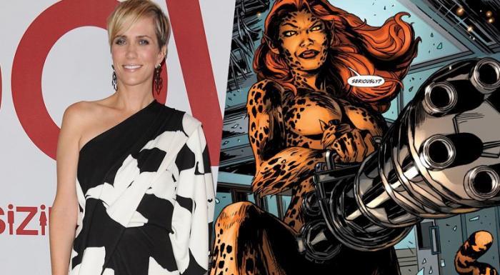 Kristen Wiig confirmada como Cheetah en Wonder Woman 2