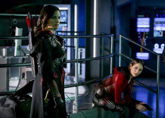 Imagen de Arrow 6×16, The Thanatos Guild