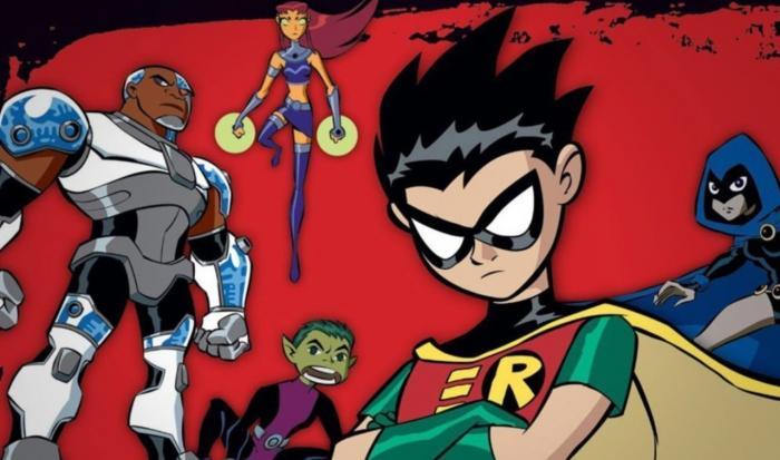 Imagen de la serie de animación Teen Titans / Los Jóvenes Titanes (2003-2006)