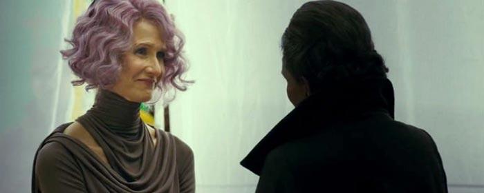 Holdo era sensible a la Fuerza en Star Wars: Los Últimos Jedi