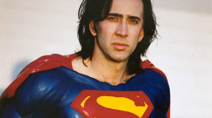 Nicolas Cage hará la nueva película de Superman