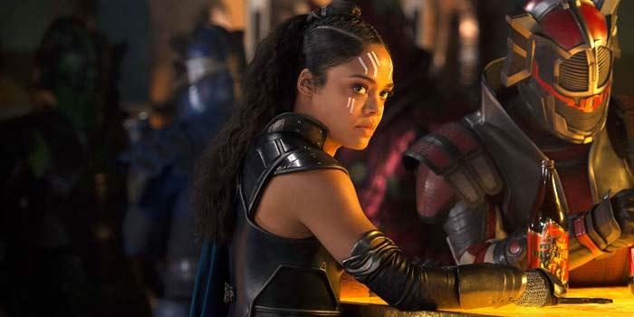 Tessa Thompson es Valkiria en Thor Ragnarok