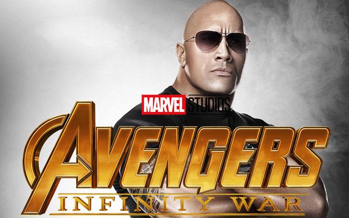 The Rock plantará cara a Vengadores: Infinity War
